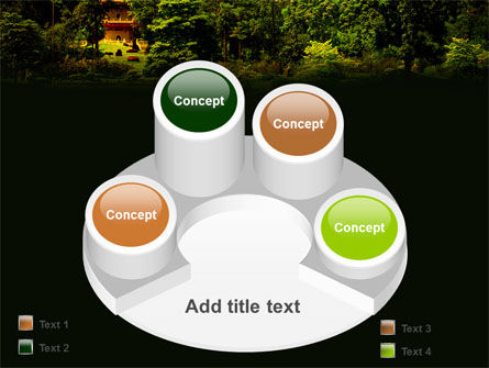 Pagoda PowerPoint Template Slide 12