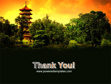 Pagoda PowerPoint Template Slide 20