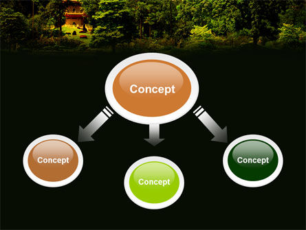 Pagoda PowerPoint Template Slide 4