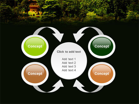 Pagoda PowerPoint Template Slide 6