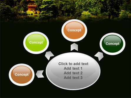 Pagoda PowerPoint Template Slide 7