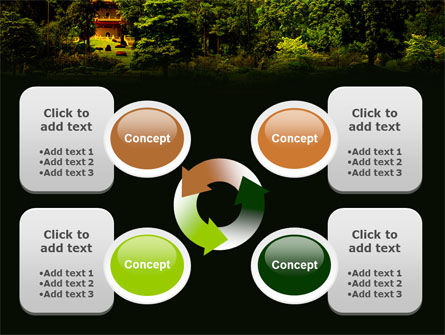 Pagoda PowerPoint Template Slide 9