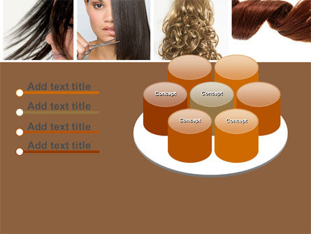 Hairstyle PowerPoint Template Slide 12
