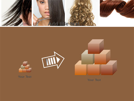 Hairstyle PowerPoint Template Slide 13