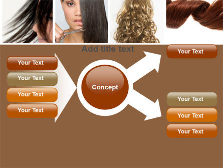 Hairstyle PowerPoint Template Slide 15