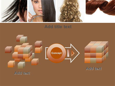 Hairstyle PowerPoint Template Slide 17