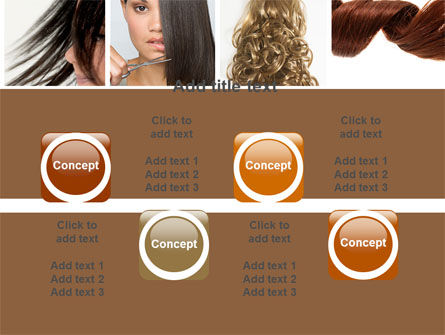 Hairstyle PowerPoint Template Slide 18