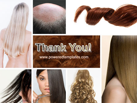 Hairstyle PowerPoint Template Slide 20