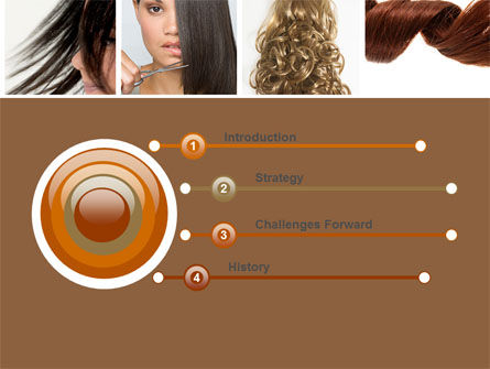 Hairstyle PowerPoint Template, Slide 3, 05429, Careers/Industry — PoweredTemplate.com
