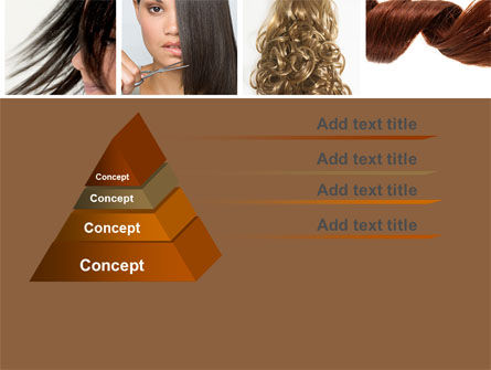 Hairstyle PowerPoint Template, Slide 4, 05429, Careers/Industry — PoweredTemplate.com