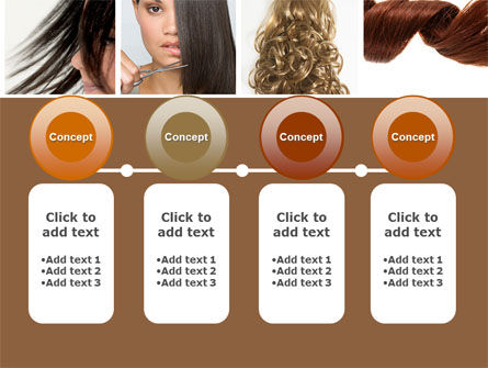Hairstyle PowerPoint Template Slide 5