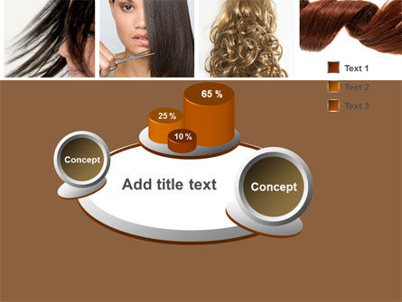 Hairstyle PowerPoint Template Slide 6