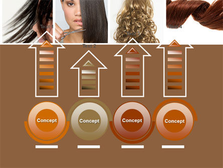 Hairstyle PowerPoint Template Slide 7