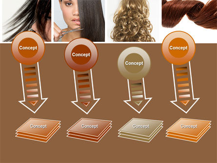 Hairstyle PowerPoint Template Slide 8