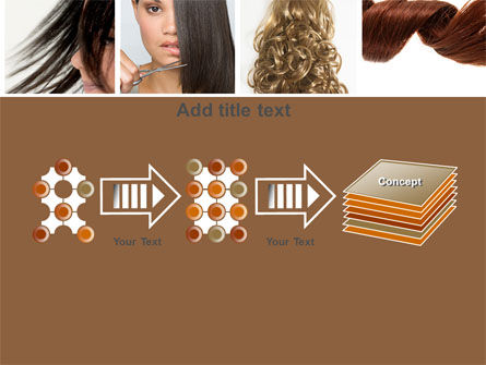 Hairstyle PowerPoint Template Slide 9