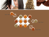 Hairstyle PowerPoint Template#10