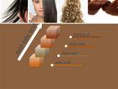 Hairstyle PowerPoint Template#14