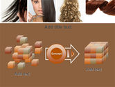 Hairstyle PowerPoint Template#17
