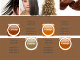 Hairstyle PowerPoint Template#18