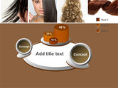 Hairstyle PowerPoint Template#6
