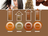 Hairstyle PowerPoint Template#7