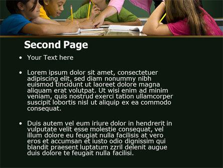 Class Teaching PowerPoint Template, Slide 2, 05430, Education & Training — PoweredTemplate.com