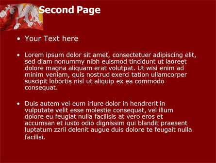 Bhutan PowerPoint Template, Slide 2, 05431, Flags/International — PoweredTemplate.com