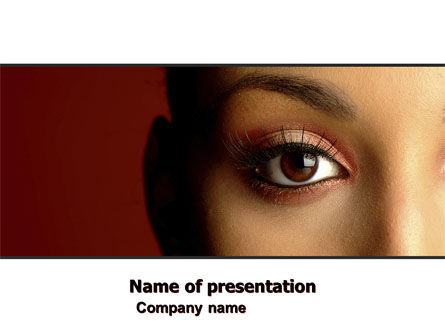 Make-Up PowerPoint Template, 05433, Medical — PoweredTemplate.com