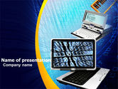 Computers: Development of Computing Technology PowerPoint Template #05434
