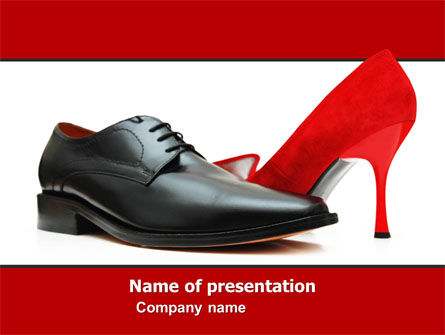 Consulting: Footwear PowerPoint Template #05435