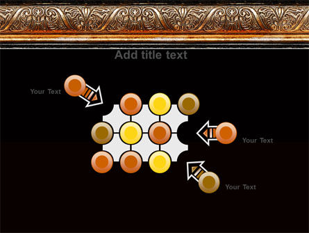 Antique Frame Decoration PowerPoint Template Slide 10