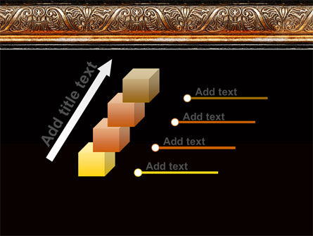Antique Frame Decoration PowerPoint Template Slide 14