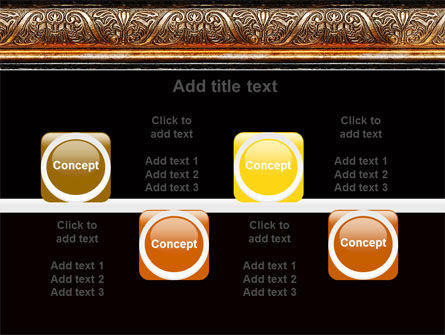 Antique Frame Decoration PowerPoint Template Slide 18