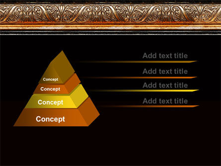 Antique Frame Decoration PowerPoint Template Slide 4