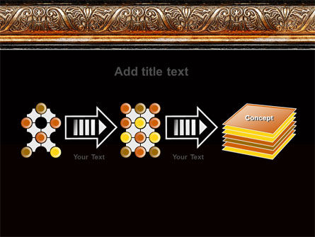 Antique Frame Decoration PowerPoint Template Slide 9