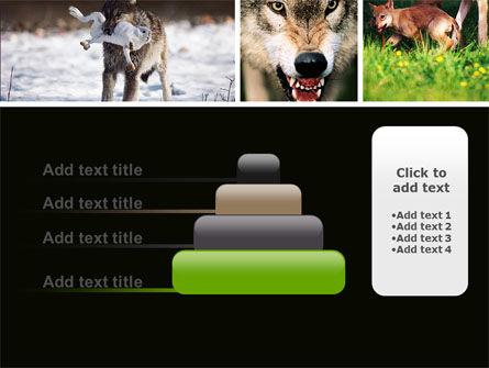 Wolf PowerPoint Template Slide 8