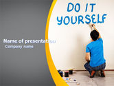 Business Concepts: Do It Yourself PowerPoint Template #05440
