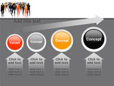 Business Personnel Silhouettes PowerPoint Template#13