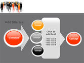 Business Personnel Silhouettes PowerPoint Template#17
