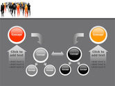 Business Personnel Silhouettes PowerPoint Template#19