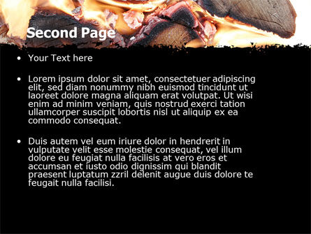 Bonfire PowerPoint Template Slide 2