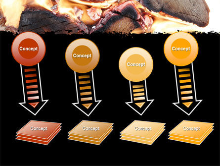 Bonfire PowerPoint Template Slide 8