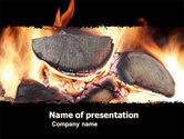 Bonfire PowerPoint Template#1
