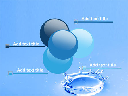 Blue Water Splash PowerPoint Template Slide 10