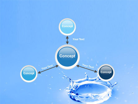 Blue Water Splash PowerPoint Template Slide 14