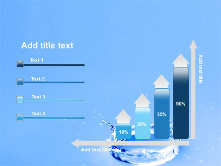 Blue Water Splash PowerPoint Template Slide 8