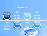 Blue Water Splash PowerPoint Template#19