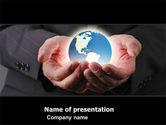 Global: World Integration PowerPoint Template #05445