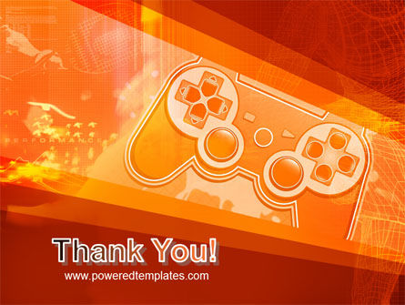 Game Joystick PowerPoint Template Slide 20