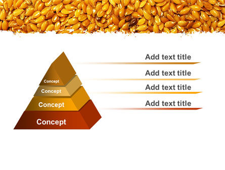 Flax PowerPoint Template, Slide 4, 05448, Agriculture — PoweredTemplate.com